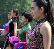 15만명 여성, 치파오쇼 참가